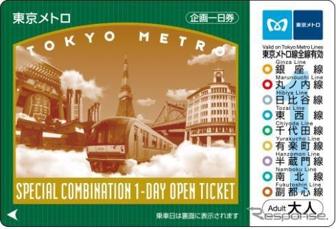 โตเกียวกระสวยและ metropass