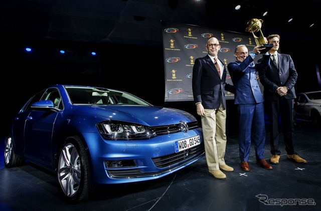 New VW Golf was awarded the 2013 that garnered the New York motor show 13