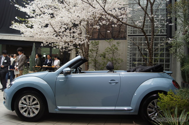 VW The Beetle Cabriolet