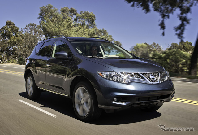 Current Nissan Murano (North America version)