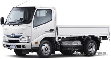 Hino, the dutro hybrid 