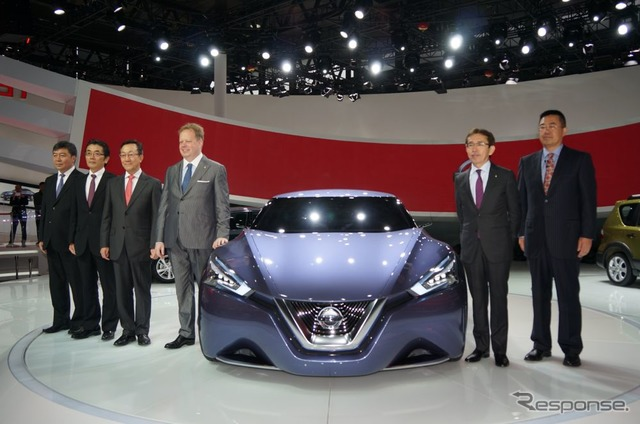 Concept models of hybrids developed by Nissan, Chinese youth towards premiere