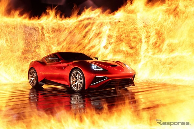 China ICONA's new supercar, Vulcano
