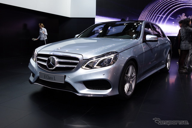 Mercedes-Benz E-class long significantly improved model (Shanghai motor show 13)