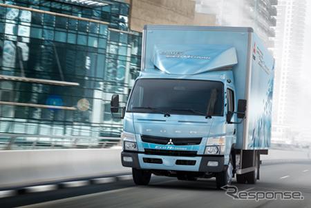 Mitsubishi Fuso, Canter eco hibrida referensi gambar