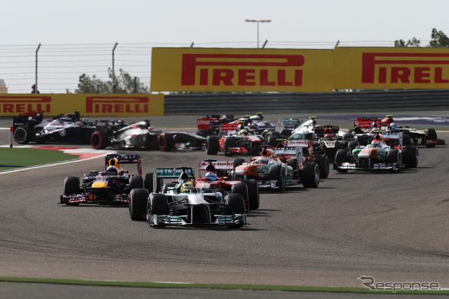 F1 البحرين سباق الجائزة الكبرى