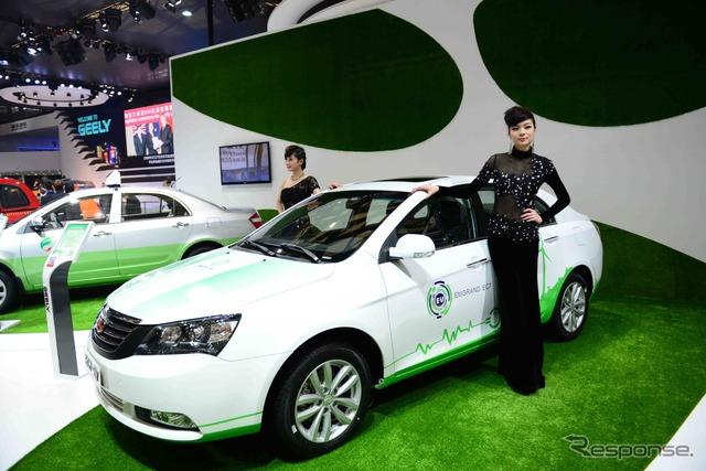 Geely Emgrand marcas EC7-EV (salón del automóvil de Shanghai 13)