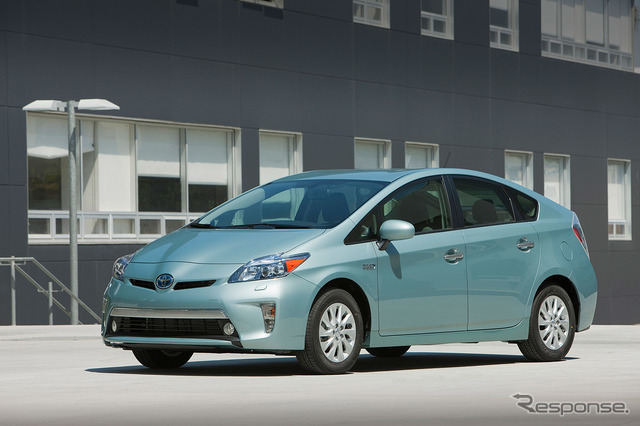 Toyota Prius PHV (United States version)