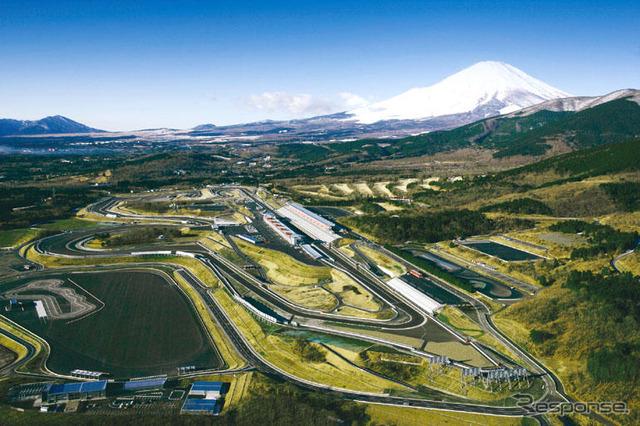 Shin-Fuji Speedway panoramic view