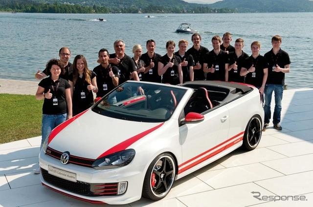 VW Golf GTI Cabrio Austria