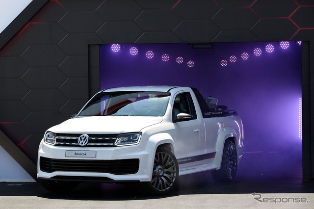 Volkswagen amaroks power pickup