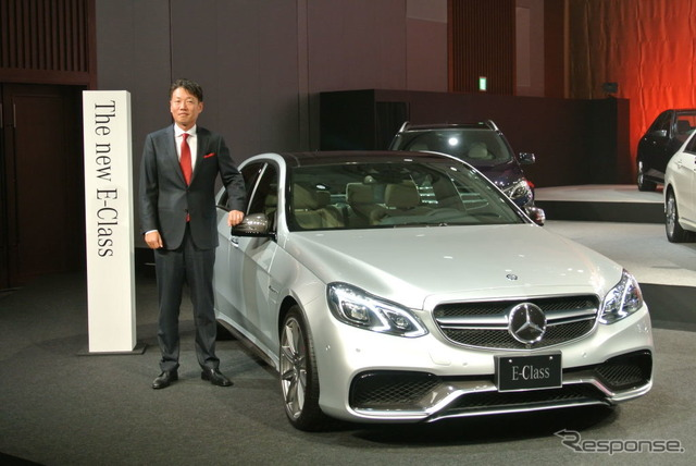 Presentation of the Mercedes-Benz new E class