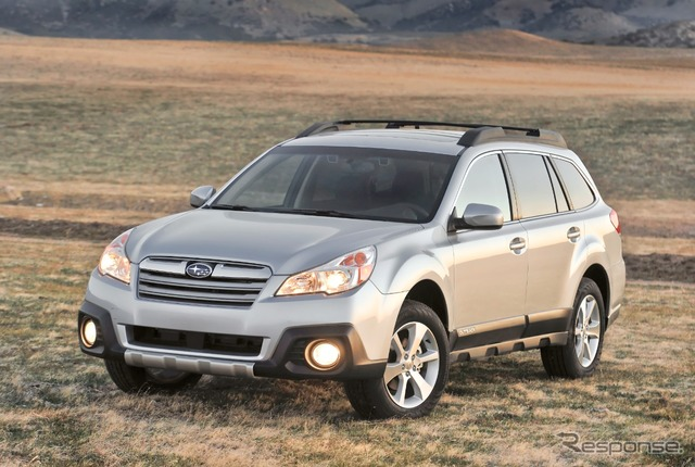 2013 Subaru Outback (legacy Outback Japan name) model