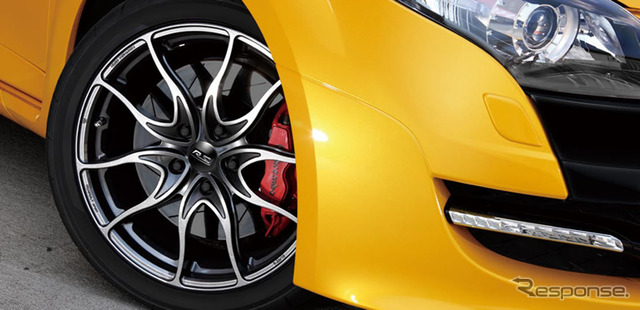 Mégane Renault sport-specific lightweight forged alloy wheels RSF01