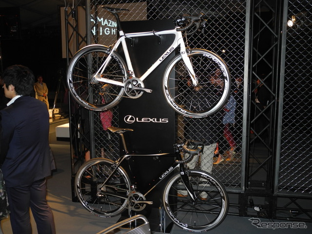 Lexus brand bicycles