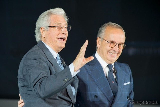 Walter de Silva, (right) Mr ジョルジェット Giugiaro