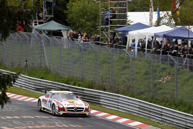 41 Nurburgring 24-hour endurance race to Mercedes-Benz SLS AMG GT3 GT