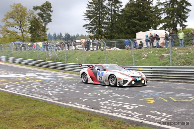 "Newspaper watch ""feat"" finished the 24 hours Nürburgring in LFA President of Morizo, 2nd class"