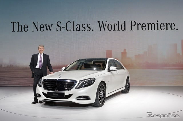 New Mercedes-Benz S-class and Director Thomas Webber