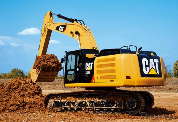 ชินมิตซูบิชิหนอนผีเสื้อและไฮบริดไฮดรอลิก excavators แมว 336E L H