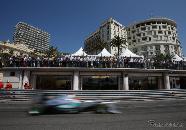 F1 Monaco GP Thursday,