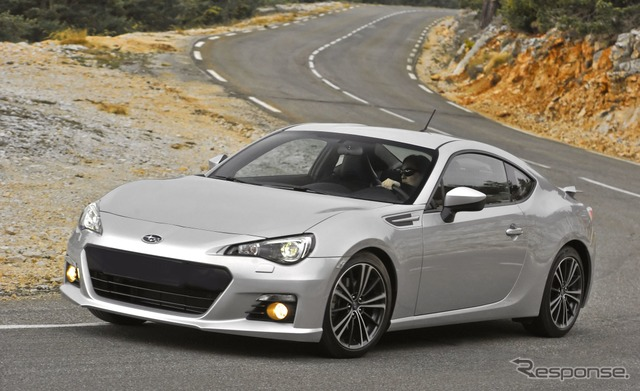 United States specifications Subaru BRZ
