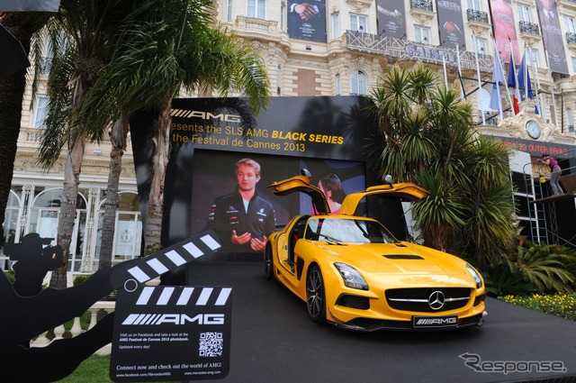 Mercedes AMG car for Cannes Film Festival
