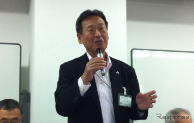 Yoshida Jun-ichi Chairman national motorcycle Association