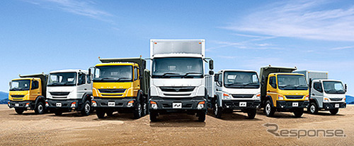 Mitsubishi Fuso / model strategis Asia Afrika