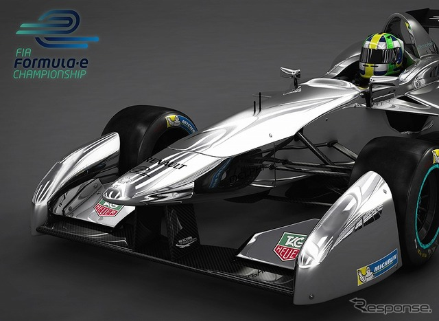 Official images of the latest formula E Carr