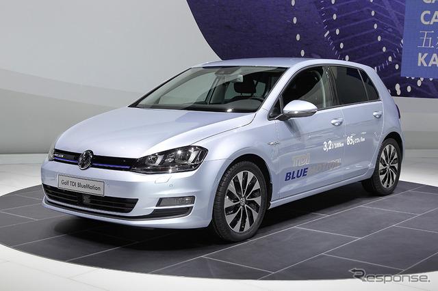 Volkswagen Golf BlueMotion (2013 Geneva Motor Show)