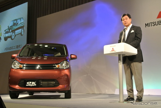 Presentation of the Mitsubishi new eK