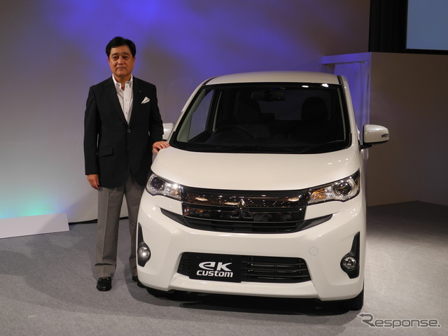 "Presentation of ""new mini Mitsubishi Motors eK wagon"""