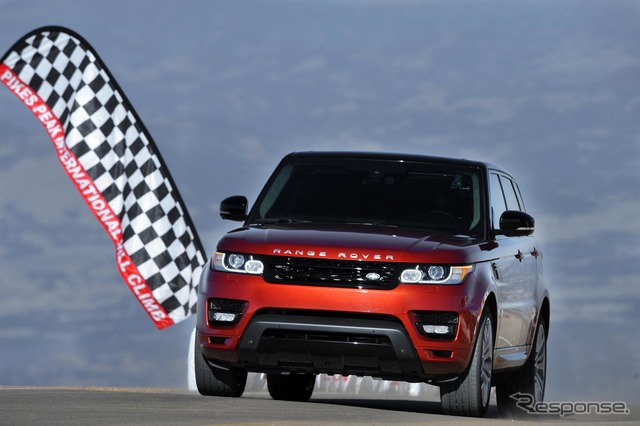 New Range Rover Sport run up Pikes Peak international ヒルクライ courses
