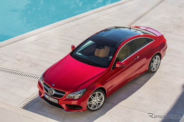 Mercedes-Benz E-class Coupe 2014's model