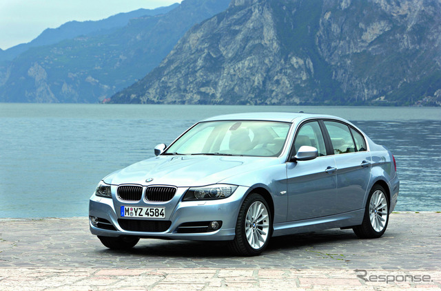 BMW 3 series legacy of the reference image