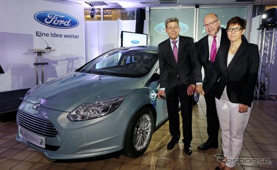 ฟอร์ดโฟกัสผลิตไฟฟ้าเริ่มต้นในโรงงานザールルイスในประเทศเยอรมนี
