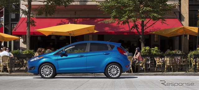 Ford Fiesta for the United States by 2014, model