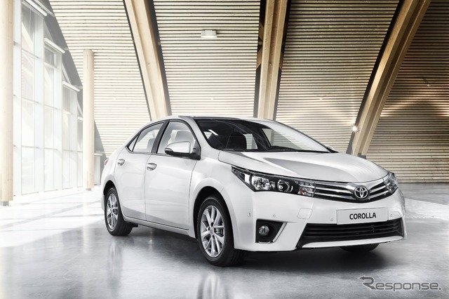 Toyota Corolla new for Europe