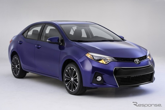 North America new Toyota Corolla S grade reference images