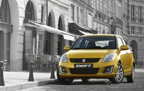 Significantly improved model of Suzuki Swift leading the public at Suzuki Belgium official site