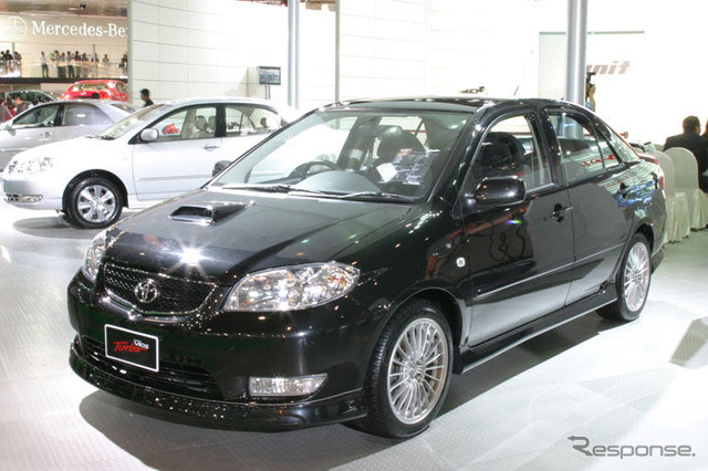 [Bangkok motor show-05] new vehicles available for purchase! Toyota Turbo 4 door sedan