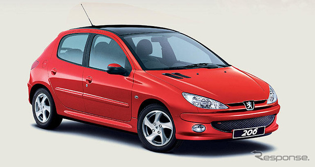 "Peugeot 206 hatchback ""Cielo the ( Cielo )"