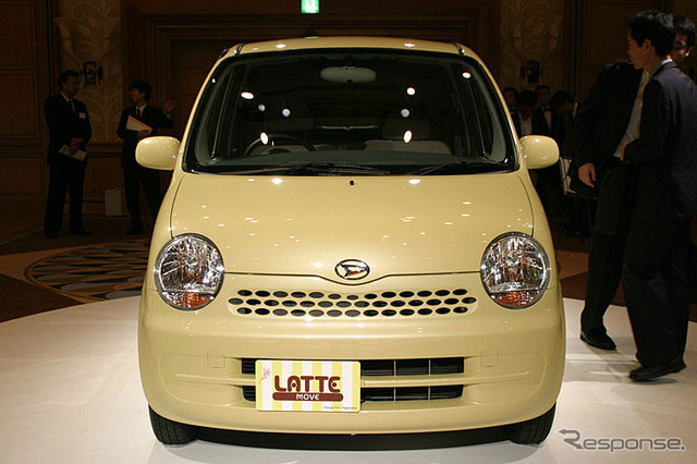Daihatsu ムーブラテ developed the female main target