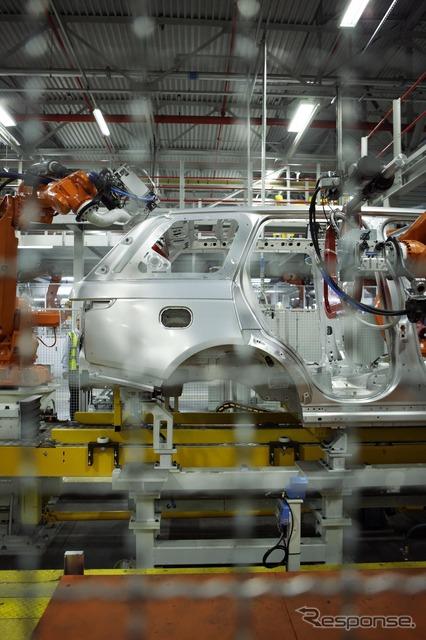 ภาพอ้างอิงโรงงานผลิตช่วงใหม่โรเวอร์สหราชอาณาจักร