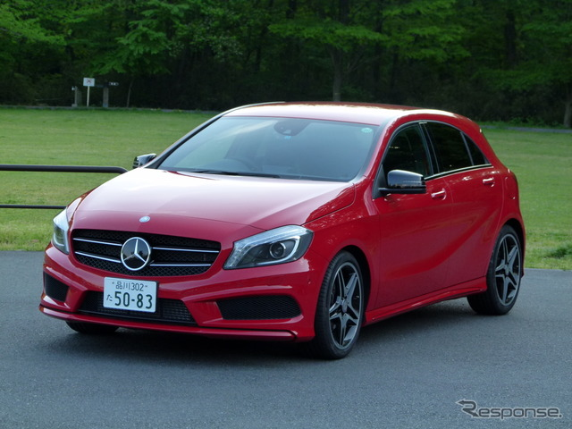 Mercedes-Benz A180 sports (reference image)