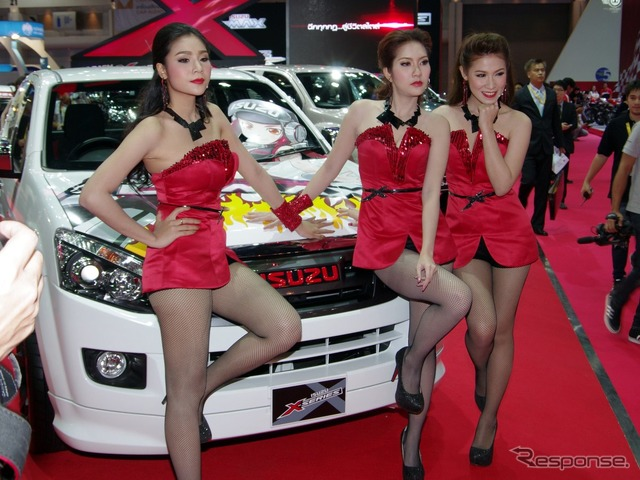 How the Bangkok motor show held in March