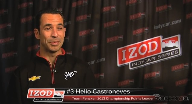 Helio Castroneves (video capture)