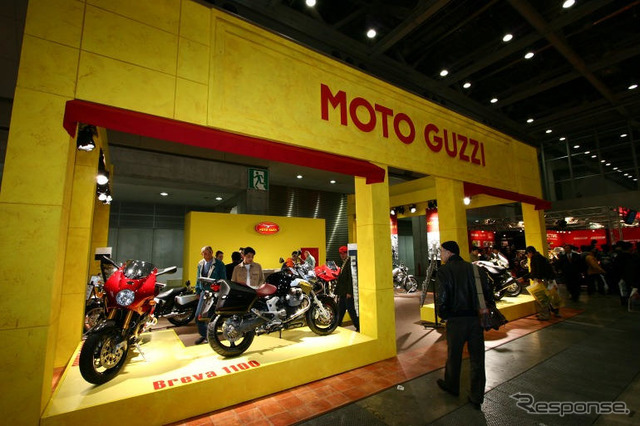 [Tokyo motorcycle show-05] exceptional personality... Moto guzzi photos collection