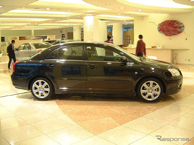 Toyota avensis Made of United Kingdom, import the Japan